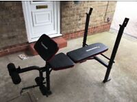 Maxi-muscle gym bench