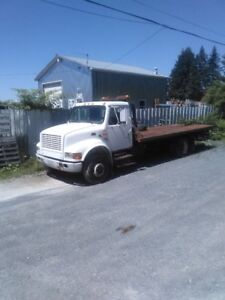 2000 International Deck Truck 4700