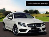 Mercedes-Benz C Class C 220 D AMG LINE PREMIUM PLUS (white) 2017-07-31