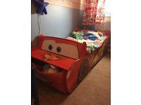 Toddlers Disney Cars Bed and bedding