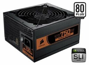 Enthusiast Series™ TX750 — 80 PLUS® Certified Power Supply