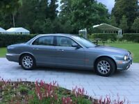 Jaguar XJ6 3.0 Automatic Executive Saloon 2004: Dolphin Gray with Ivory Leather & Walnut Facia