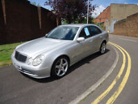 2003 MERCEDES E270 CDTI FULL SERVICE HISTORY NAVIGATION SYSTEM COME WITH 12 M MOT PERFECT RUNNER