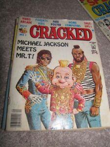 15 Vintage Cracked 41 Mad Magazine Lot 70's 80's