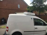 Man and Refrigerated Van for same day and overnight deliveries anywhere in UK.