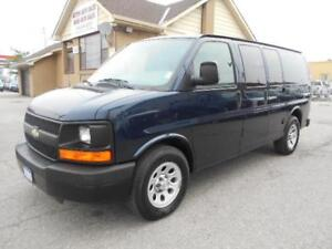 2009 CHEVROLET Express 1500  AWD 4Door Cargo ONLY 39,000KMs