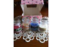 Beautiful candle gift set