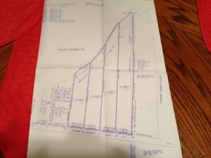 Waterfront Lots for Sale on Pokemouche River N.B.