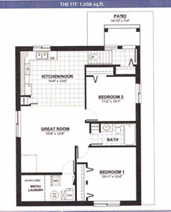 2 bdr condo Utilities Paid for YOU!!