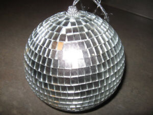 Mirror Ball + couple other items-$5 for the lot