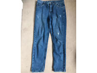 Topshop high waisted mom jeans w30 l30