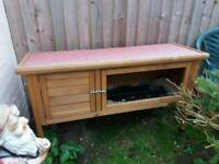 Nearly new rabbit hutch