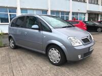 2004 Vauxhall Meriva Design 1.8i 16v ( a/c ) **Cheap Family Car **