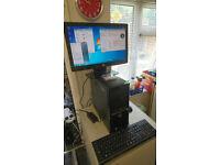 HP COMPAQ QUAD CORE WINDOWS 7 PC