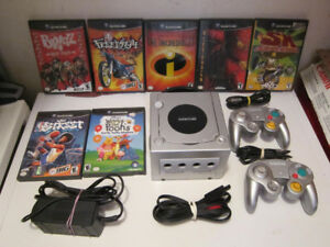 Nintendo Gamecube Bundle With 7 Games