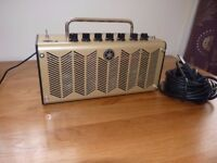 Yamaha THR5A electric and acoustic guitar amplifier and guitar lead