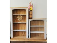 Farmhouse rustic cabinet/shelves