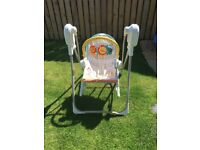 Fisher Price baby 3 in 1 swing and rocker