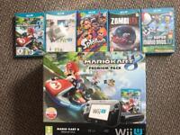 Nintendo WiiU MarioKart 8 Premium Pack! +Games!