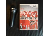 Wii Disney Sing It With Microphone