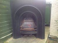 Horseshoe fireplace