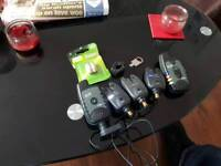 Fox eos-x bite alarms plus + tXr receiver