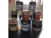 DULUX / LEYLAND / ZINSSER PAINT JOB LOT