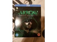 Arrow season 1-3 blu- ray