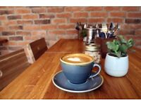 Part time barista for a speciality coffee shop in Windsor