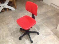 Childrens IKEA swivel chair