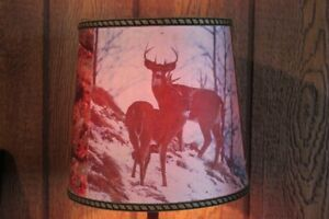 1950's - 60's TEAK WOOD DEER LAMP (VIEW OTHER ADS)