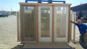 All kinds of new windows and doors