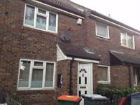lovely two bed house in Beckton with one doubled, one single, large living room