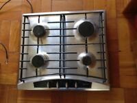 NEFF 4 RING GAS HOB, STAINLESS STEEL.