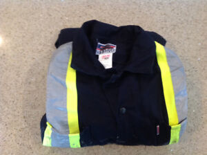 1 pair of 100% cotton coveralls - size 46S - used