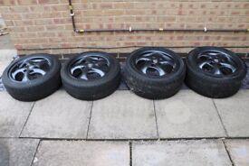 """Porsche Turbo Twist Wheels 17"""""""