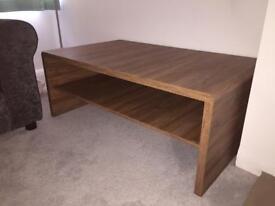 Walnut Coffee Table - NEXT 'Jay' range