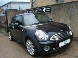 "07 07 MINI COOPER 1.6 16V CHILLI PACK 3DR LEATHER PARK SENSORS 17"" ALLOYS AIRCON"