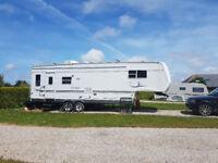 Four Windows 29RL 5th Wheel - American Touring Caravan - Static RV - 2 Slides