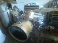 mapex drum kit good condition