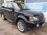 Land Rover Range Rover Sport 2.7TD V6 auto 2006 HSE Sat Nav Leather