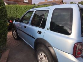 Landrover freelander td4 for sale
