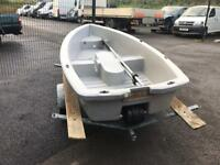 Plastimo prd 300 boat & trailer good condition £800 no outboard