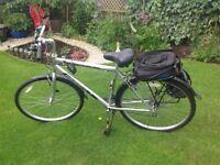 Ascot Hybrid bike plus extras