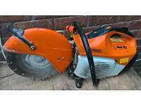 Stihl TS410 2 Stroke Petrol Cut Off Saw (c/w Diamond Blade)