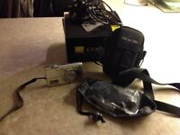 Digital camera Nikon 12.0 with accessories, in an excellent condition.