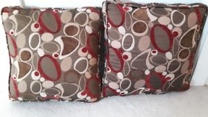 Pillows (2) with Zippers-OSOYOOS