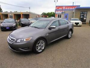 2012 FORD TAURUS LIMITED 4WD LEATHER ROOF NAV EASY CAR FINANCE