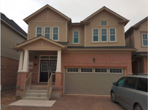 Brand new detached home in new community in Cambridge