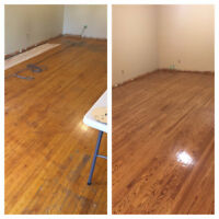 TORONTO RESTORATION SERVICES. FLOOR RESTORATION. REFINISHING.